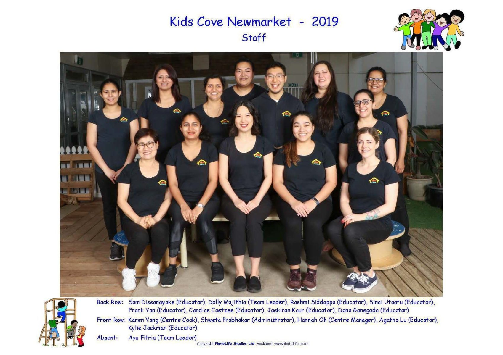 Newmarket Daycare Team